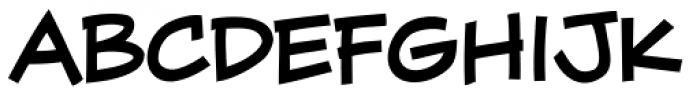 Wall Scrawler Bold Font LOWERCASE