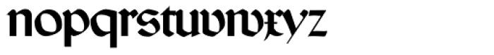 Wallau No2 Pro Font LOWERCASE