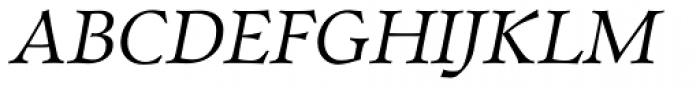 Walleye Italic Font UPPERCASE