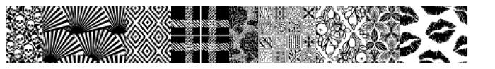 Wallflowers III Font UPPERCASE