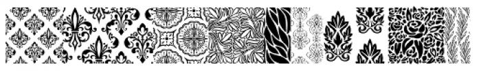 Wallflowers Font UPPERCASE