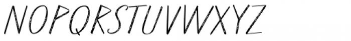 Walls Rough Thin Font UPPERCASE