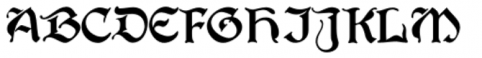 Waltari Font UPPERCASE