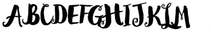 Wanderlust Decorative Pro Font UPPERCASE