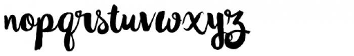 Wanderlust Decorative Font LOWERCASE