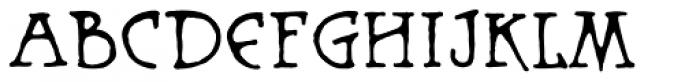 Warhorse BB Font UPPERCASE