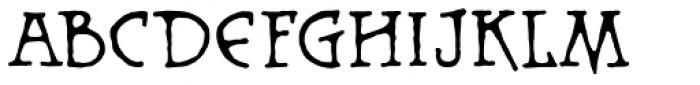 Warhorse Deco BB Font LOWERCASE
