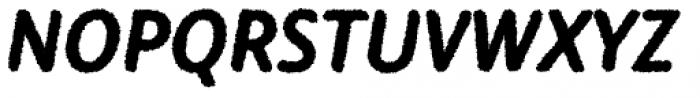 Warka Rough Font UPPERCASE