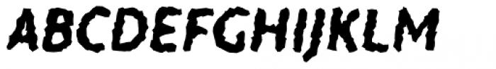 Warka Stoned Font UPPERCASE