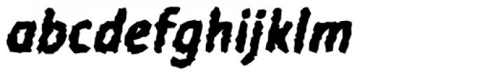 Warka Stoned Font LOWERCASE