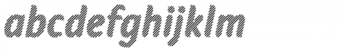 Warka Stripes Font LOWERCASE