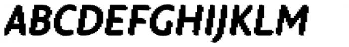 Warka blocks Font UPPERCASE