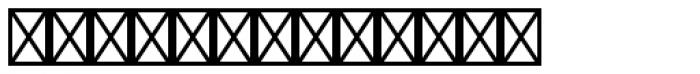 Warning Pi Font LOWERCASE
