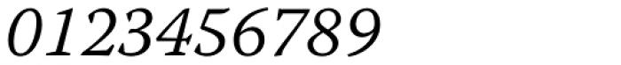 Warnock Pro Caption Light Italic Font OTHER CHARS