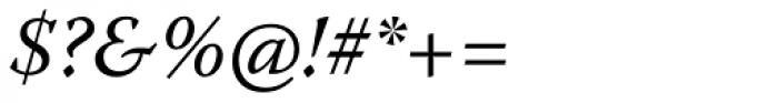 Warnock Pro Italic Font OTHER CHARS