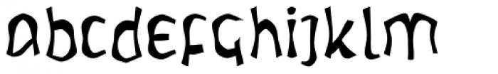 Warp Letunical Font LOWERCASE