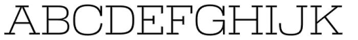 Warrior Light Font UPPERCASE