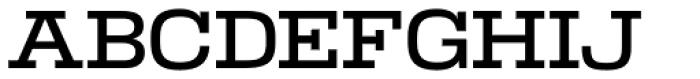 Warrior Medium Font UPPERCASE