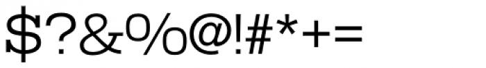 Warrior Regular Font OTHER CHARS