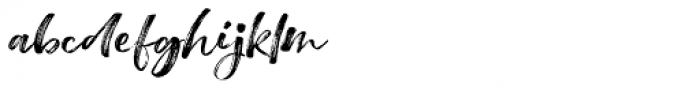 Wasatch Brush Wasatch Brush Font LOWERCASE
