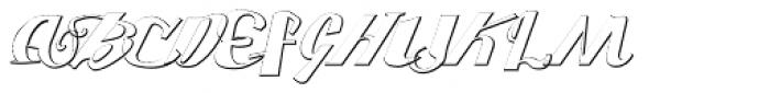 Washed Light Font UPPERCASE