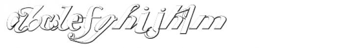 Washed Light Font LOWERCASE