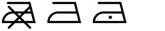 Washing Machine Bold Font LOWERCASE