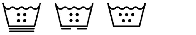 Washing Machine Font UPPERCASE
