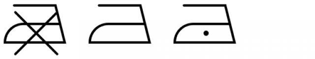 Washing Machine Font LOWERCASE