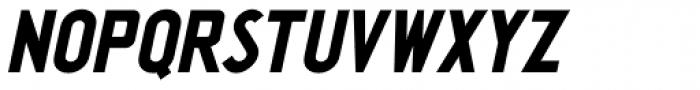 Washington Heights Oblique JNL Font UPPERCASE