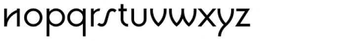 Waskonia Font LOWERCASE