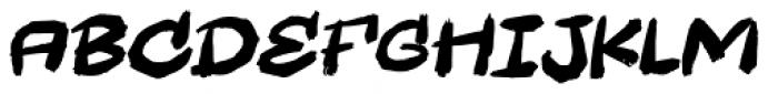 Wastebag Italic Font LOWERCASE