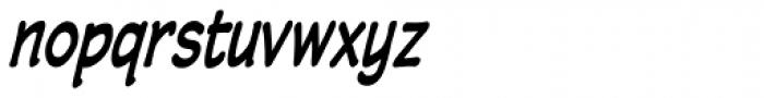 Wastrel Bold Condensed Oblique Font LOWERCASE