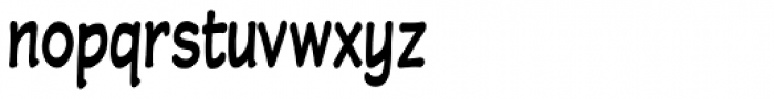 Wastrel Bold Condensed Font LOWERCASE