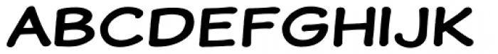 Wastrel Bold Expanded Font UPPERCASE
