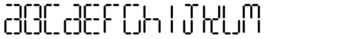 Watchmaker Caps Font LOWERCASE