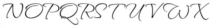 Waterfall Pro Font UPPERCASE