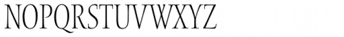 Waters Titling Pro Cond Light Font LOWERCASE