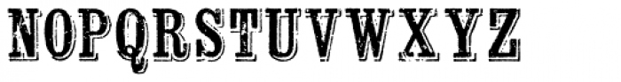 Wausau Font UPPERCASE