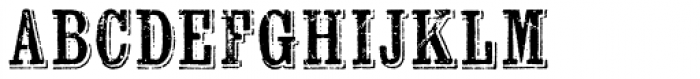Wausau Font LOWERCASE