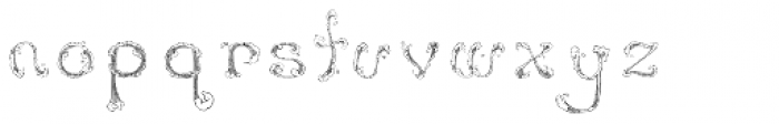 Wave Font LOWERCASE