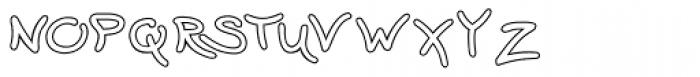 Wavy Gravy Open Font LOWERCASE