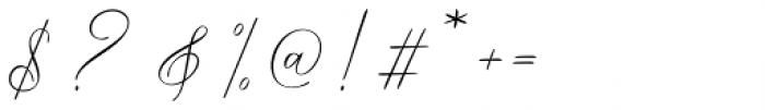 Way Kambas Regular Font OTHER CHARS