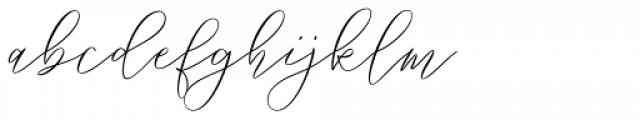 Way Kambas Regular Font LOWERCASE