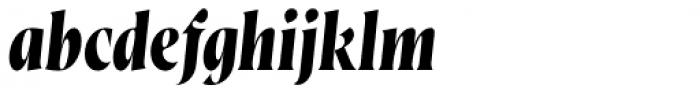 Wayfinder CF Bold Italic Font LOWERCASE