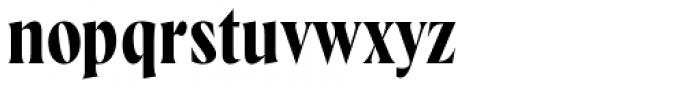 Wayfinder CF Demi Bold Font LOWERCASE