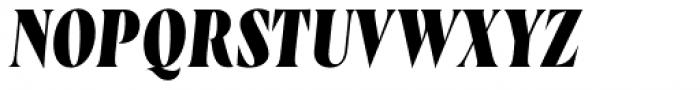 Wayfinder CF Extra Bold Italic Font UPPERCASE