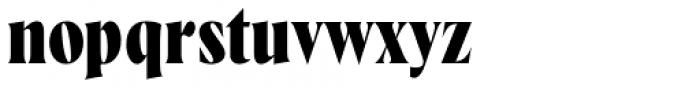 Wayfinder CF Extra Bold Font LOWERCASE