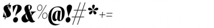 Wayfinder CF Heavy Italic Font OTHER CHARS