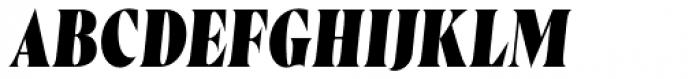 Wayfinder CF Heavy Italic Font UPPERCASE